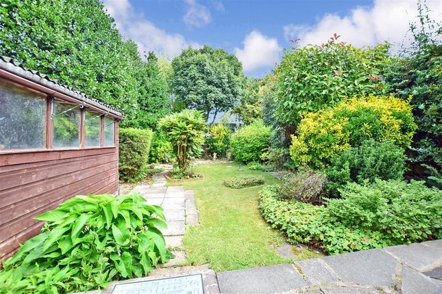 Rear Garden of Shaws Way, Rochester, Kent ME1