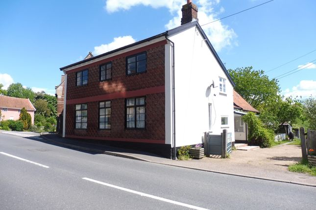 Thumbnail Detached house to rent in Vicarage Road, Laxfield, Woodbridge