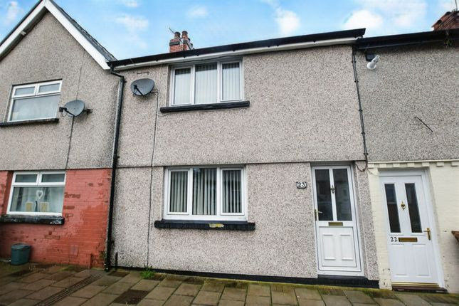 Thumbnail Terraced house for sale in Asquith Street, Tir-Y-Berth, Hengoed