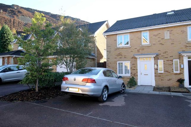Thumbnail Semi-detached house for sale in Heol Dinas Isaf, Williamstown, Tonypandy