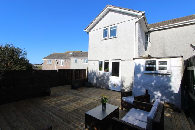 Thumbnail Semi-detached house to rent in Grove Park, Torpoint, Cornwall