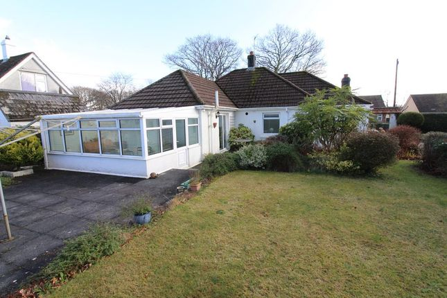 Thumbnail Detached bungalow for sale in Glenholt Close, Plymouth