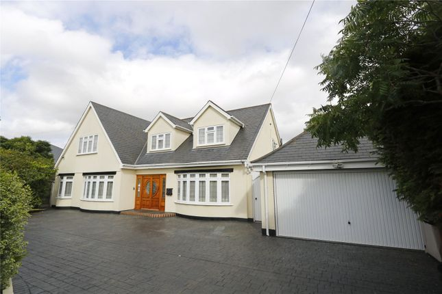 Thumbnail Detached house for sale in Daws Heath Road, Benfleet, Essex