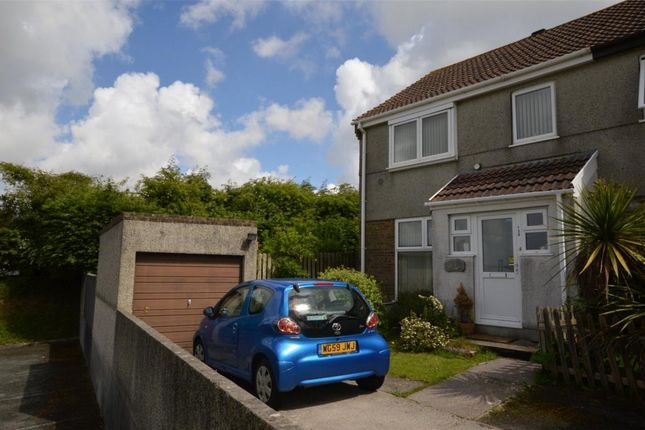 Thumbnail End terrace house for sale in Bellingham Crescent, Plymouth, Devon