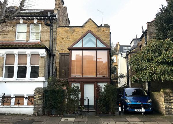 Thumbnail End terrace house for sale in Linden Gardens, London