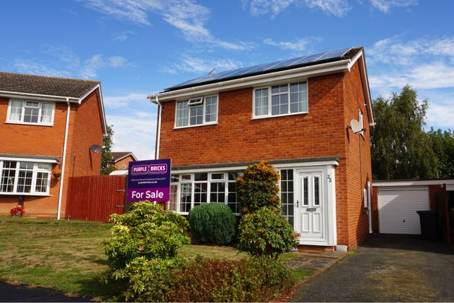 Thumbnail Detached house for sale in Bridge Way, Shrewsbury