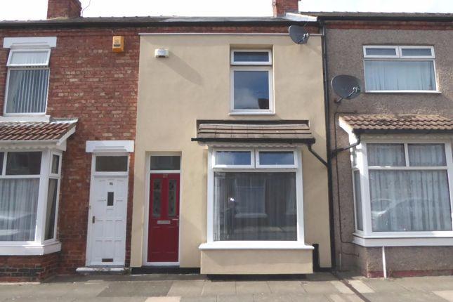 Thumbnail Terraced house to rent in Brunton Street, Darlington