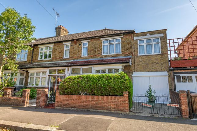 Thumbnail End terrace house for sale in Wellesley Road, London