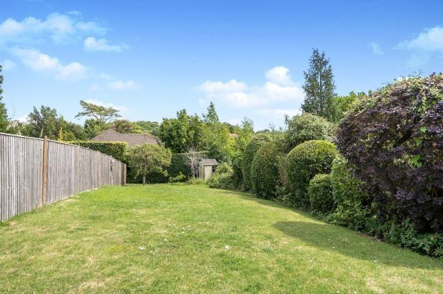 Garden of Goring Road, Steyning, West Sussex, England BN44