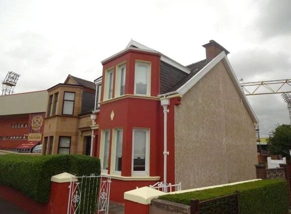 Thumbnail Semi-detached house for sale in Firpark Street, Motherwell, Lanarkshire.