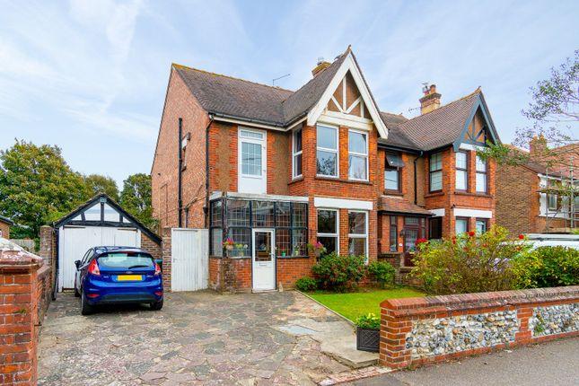 Thumbnail Semi-detached house for sale in Goda Road, Littlehampton