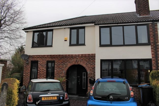 Thumbnail Semi-detached house to rent in Beatrice Avenue, Cheadle Hulme, Cheadle