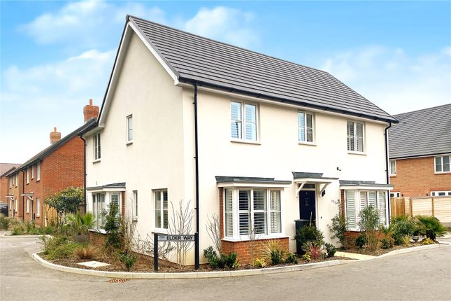 Thumbnail Detached house for sale in Elder Way, Cresswell Park, Angmering, West Sussex