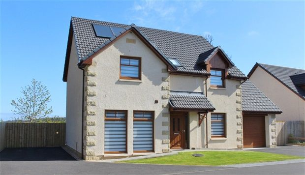 Thumbnail Detached house for sale in Hayley Smith Gardens, Fochabers, Elgin