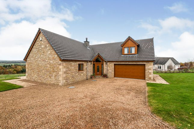 Thumbnail Detached house for sale in Spey Valley Drive, Aberlour, Moray