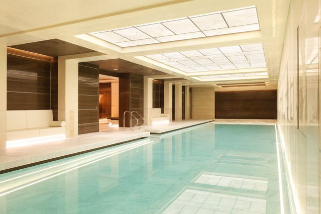 Swimming Pool of Whistler Square, Chelsea Barracks, Belgravia, London SW1W