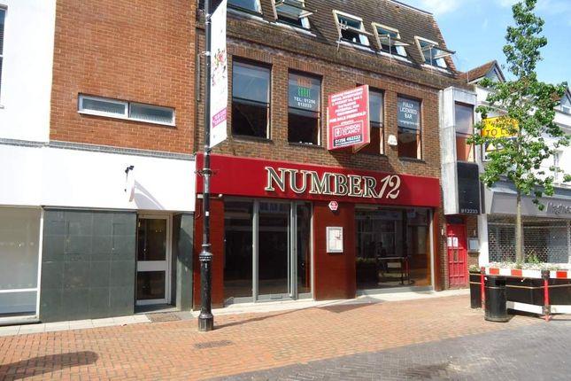 Thumbnail Retail premises for sale in 12 London Street, Basingstoke