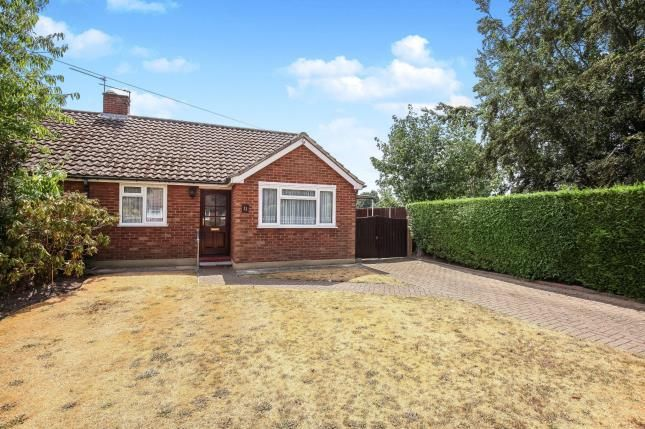 Thumbnail Bungalow for sale in Pyrford, Surrey