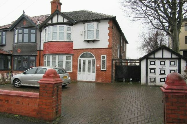 Thumbnail Semi-detached house for sale in Seymour Grove, Old Trafford, Manchester