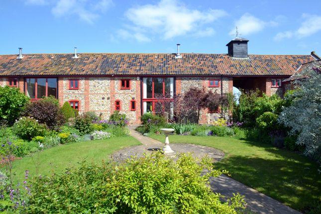 Thumbnail Barn conversion for sale in Duffs Hill, Glemsford, Sudbury