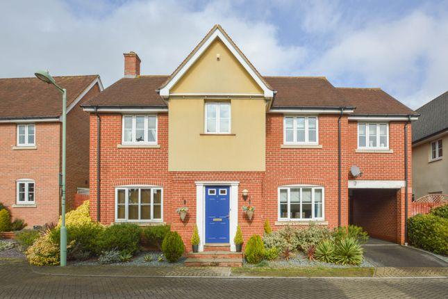 Thumbnail Detached house for sale in Alderton Close, Haverhill, Suffolk