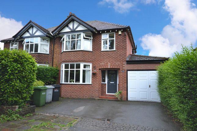 Thumbnail Semi-detached house for sale in Moss Lane, Alderley Edge