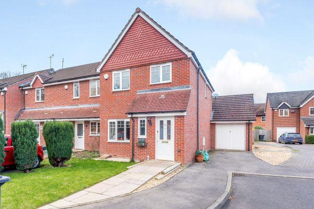 Thumbnail Semi-detached house for sale in Apple Dene, Bramley