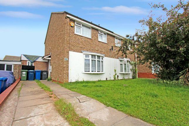 Thumbnail Semi-detached house for sale in Foxglove, Amington, Tamworth