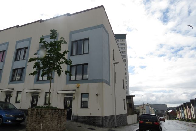 Thumbnail End terrace house for sale in Monument Street, Plymouth