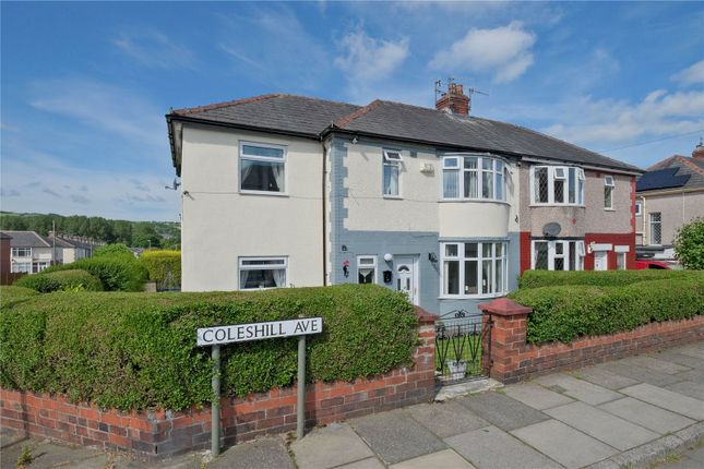 Thumbnail Semi-detached house for sale in Coleshill Avenue, Burnley