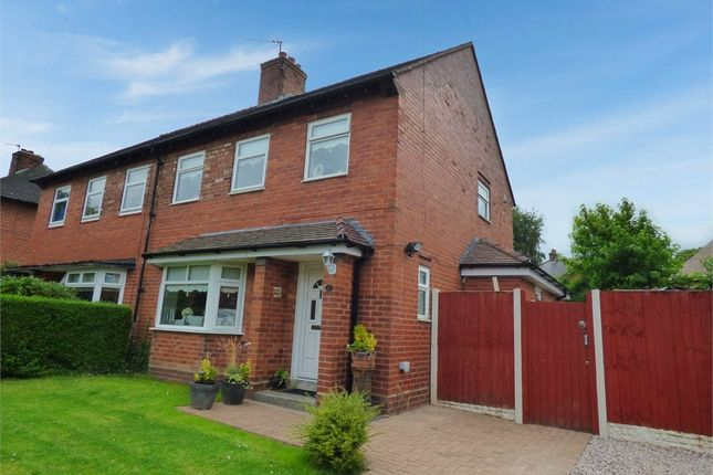 Thumbnail 4 bed semi-detached house for sale in Six Acre Gardens, Moore, Warrington, Cheshire