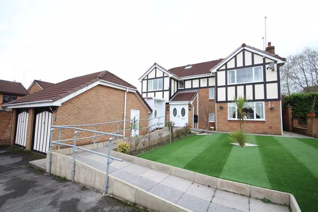 Thumbnail Detached house for sale in Traylen Way, Norden, Rochdale