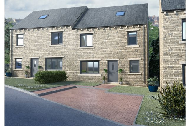 Thumbnail Semi-detached house for sale in The Quinn, Watkins Place, Hipperholme