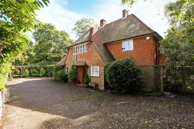 Thumbnail Detached house for sale in Rowhills, Farnham, Surrey