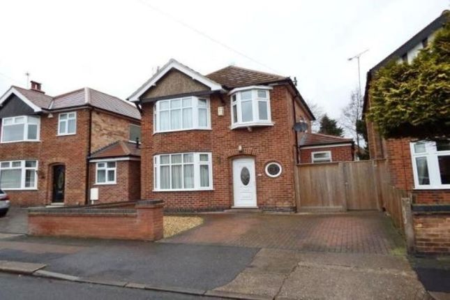 Thumbnail Detached house to rent in Elvaston Road, Wollaton, Nottingham