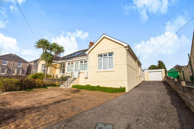 Thumbnail Semi-detached bungalow for sale in Endsleigh Road, Plymstock, Plymouth