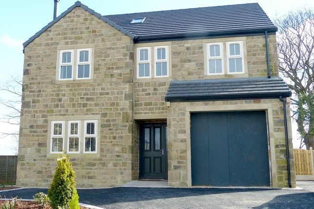 Thumbnail Detached house for sale in The Knowle, Knowler Hill, Liversedge, West Yorkshire.