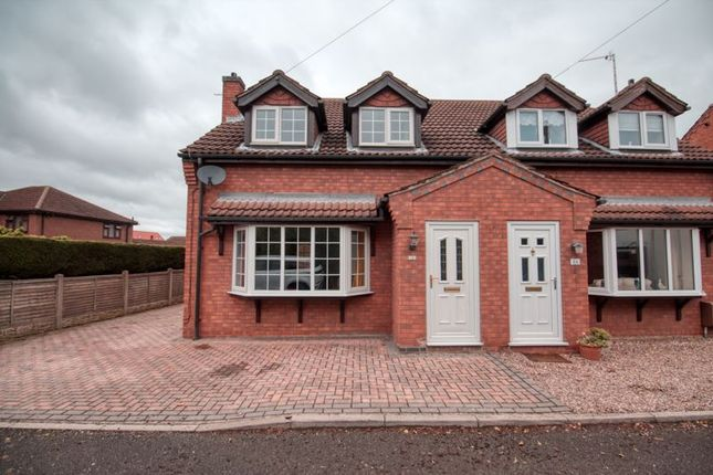 Thumbnail Semi-detached house for sale in Justice Hall Lane, Crowle, Scunthorpe
