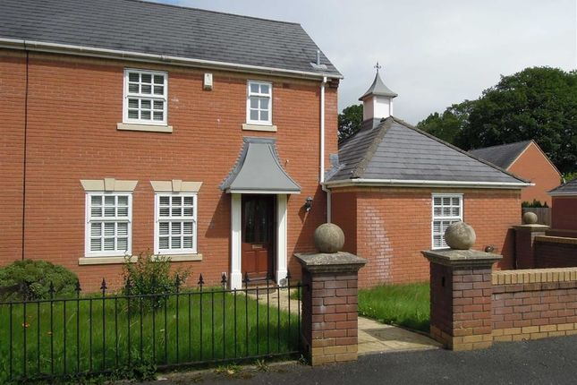 Thumbnail Semi-detached house to rent in 2, Rowan Court, Kerry, Newtown, Powys