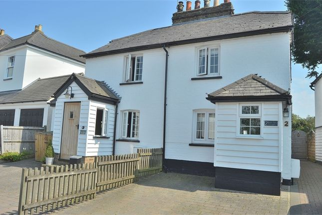 Thumbnail Semi-detached house for sale in North View Cottages, Ware Road, Widford, Hertfordshire
