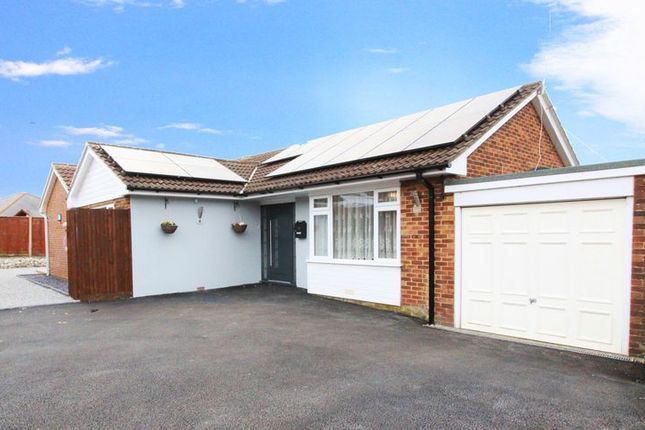 Thumbnail Detached bungalow for sale in Raymond Close, West End, Southampton