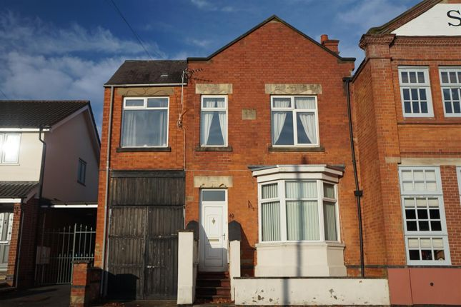 Thumbnail Semi-detached house for sale in Hollow Road, Anstey, Leicester