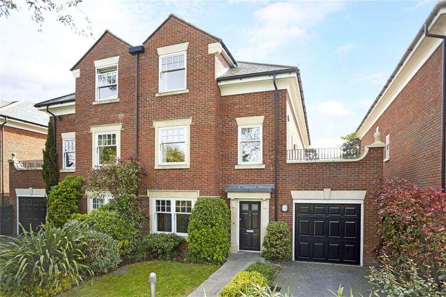 Thumbnail Semi-detached house for sale in Grange Court, Old Avenue, Weybridge, Surrey
