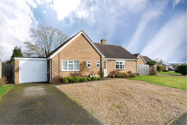 Thumbnail Detached bungalow for sale in Sand Furrows, Ketton, Stamford