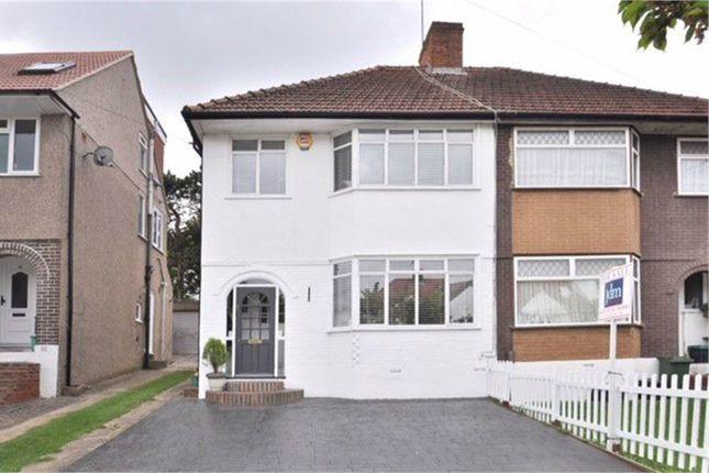 Thumbnail Semi-detached house to rent in Oakdene Avenue, Chislehurst