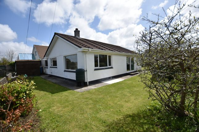 Thumbnail Detached bungalow for sale in Park Lane, Camborne
