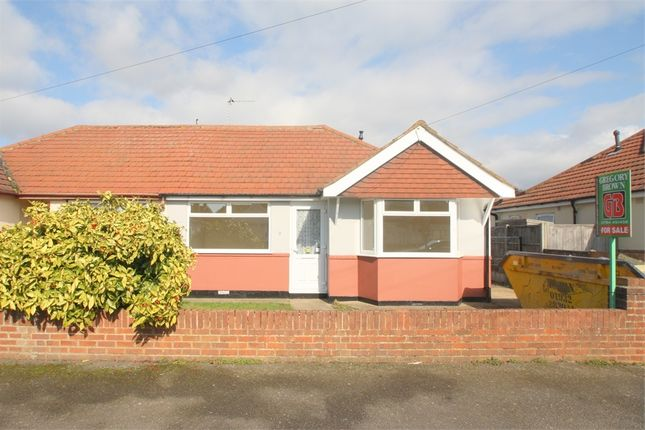 Thumbnail Semi-detached bungalow for sale in Kingsway, Staines-Upon-Thames, Surrey