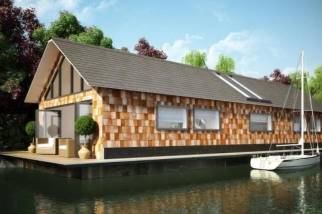 Thumbnail Houseboat for sale in Hampton Court Road, East Molesey