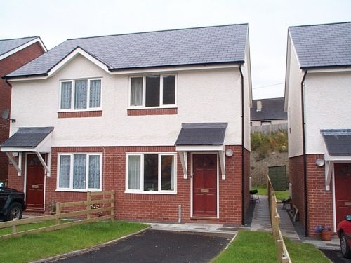 Thumbnail Detached house to rent in Pen Y Cei, Felin Y Mor Road, Aberystwyth