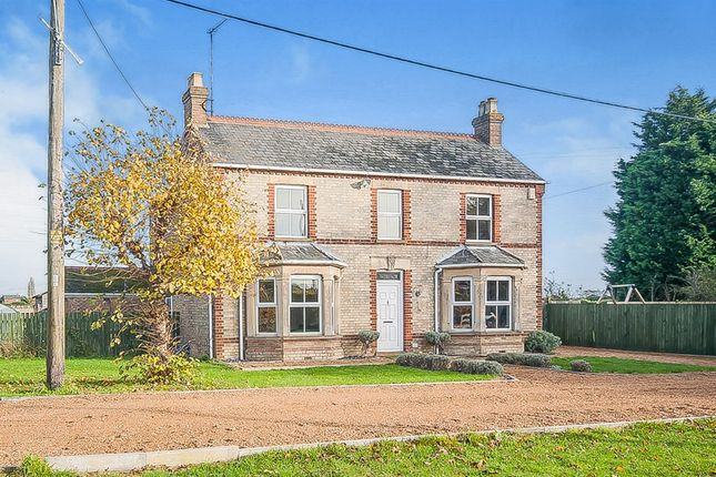 Thumbnail Detached house for sale in Small Lode, Upwell, Wisbech